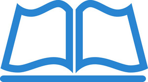 Open Book Simplicity Icon