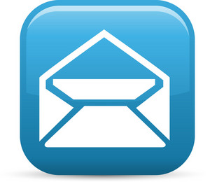 Open Email Message Elements Glossy Icon