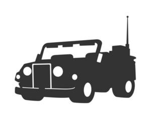 Open Jeep Vector Shape