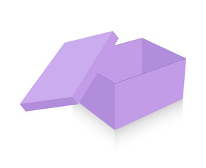 Open Purple Box