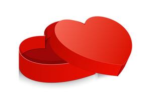 Open Valentine Box