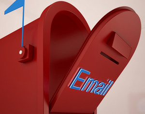 Opened Email Box Shows Outgoing Mails