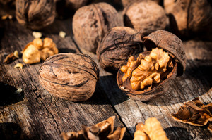 Opened Walnut
