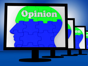 Opinion On Brain On Monitors Shows Human Judgment