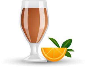 Orange And Drink Icon 2