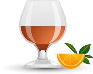 Orange And Drink Icon