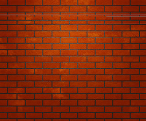Orange Brick Wall Texture
