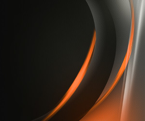 Orange Dark Tech Abstract Background