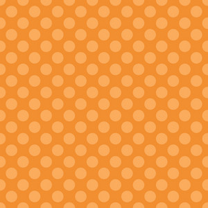 Orange Dinosaur Paper With A Polka Dot Pattern