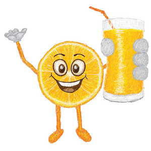 Orange Fruit With Juice