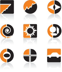 Orange Icon Set