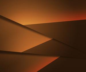 Orange Layers Background
