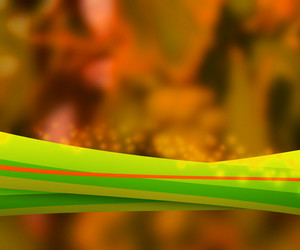 Orange Nature Abstract Background