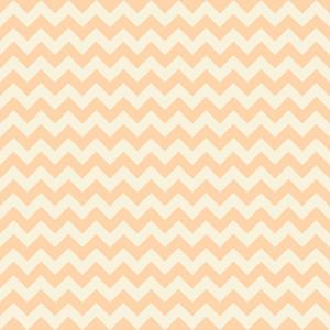 Orange Pastel Chevron Pattern