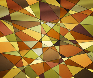 Orange Stained Glass Texture