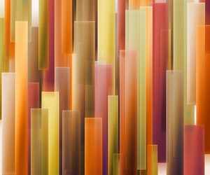 Orange Strips Abstract Background