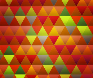 Orange Triangles Background Texture
