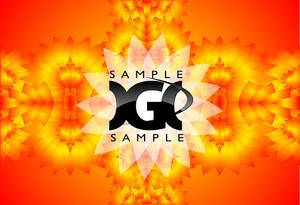 Orange Vector Pattern