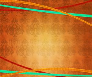 Orange Vintage Exclusive Background