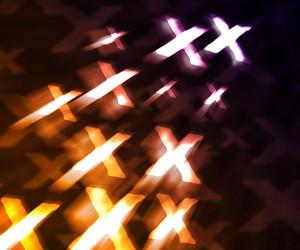 Orange Xxx Abstract Background