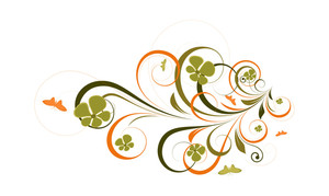 Organic Decorative Flourish Design