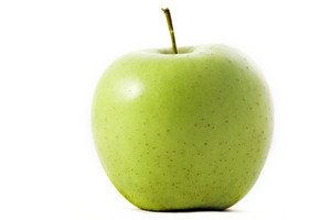Organic Green Apple Isolated