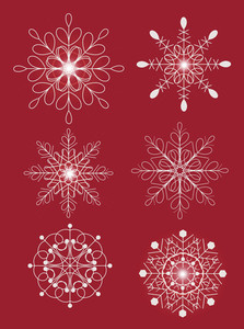 Ornament Snowflakes