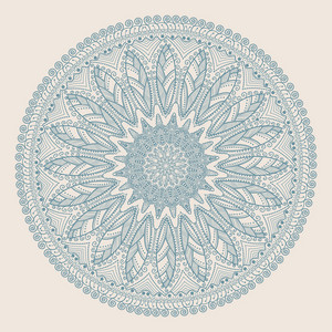 Ornamental Round Lace Pattern
