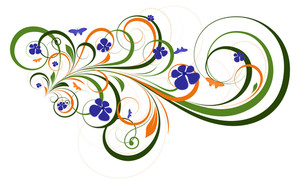 Ornate Flourish Design Elements