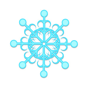 Ornate Snowflake Art