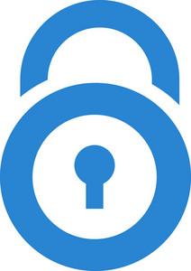 Padlock Simplicity Icon