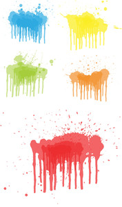 Paint Splashes Vectors