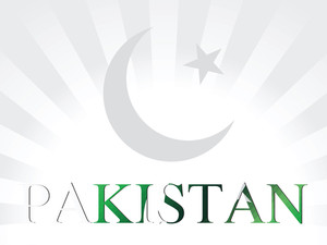 Pakistan Flag Symbol Illustration