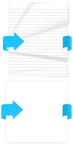 Paper Banners Vectors