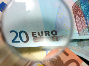 Paper Euro Bills In Europe