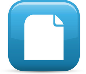 Paper Note File Elements Glossy Icon