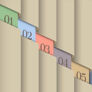 Paper Number Line Background