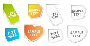 Paper Tags Vectors
