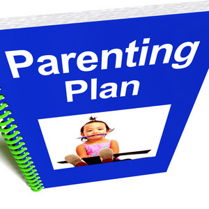 Parenting Plan Book For Child's Education