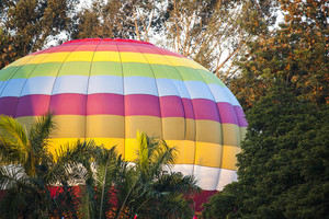 Part of Hot air ballon