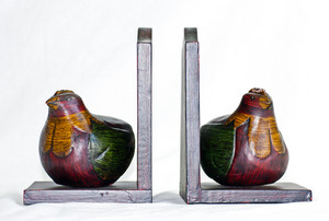 Partridge Bookends