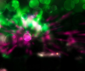 Party Abstract Green Background
