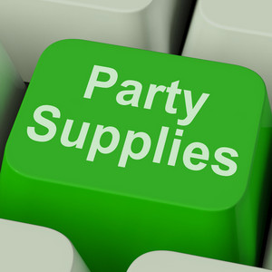 Party Supplies Key Shows Celebration Products And Goods Online