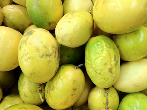 Passion Fruit Or Maracuya Background