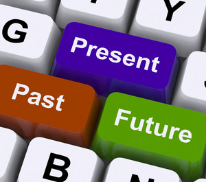 Past Present And Future Keys Show Evolution Or Aging