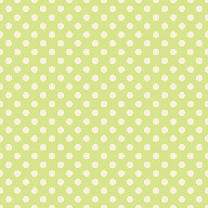 Pastel Green Polka Dots Pattern