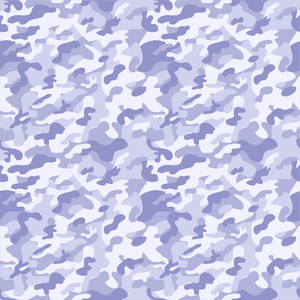 Pastel Purple Camouflage Pattern