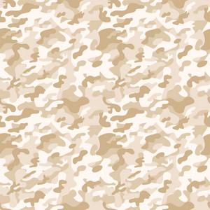 Pastel Brown Camouflage Pattern