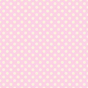 Pastel Pink Polka Dots Pattern