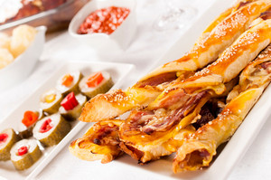 Pastry With Bacon
